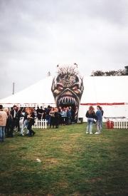Backstage At Donnington - Iron Maiden 1
